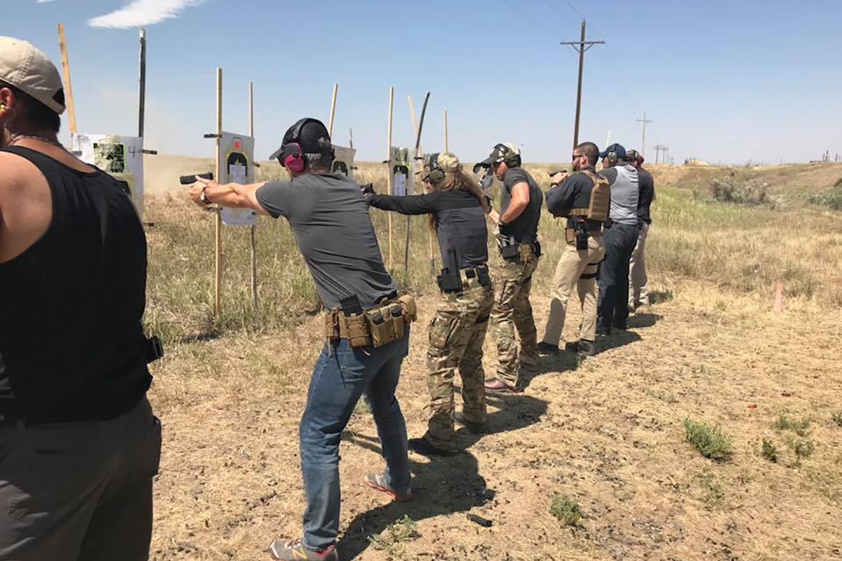 Basic Pistol Class Taught by Ragnar Tactical
