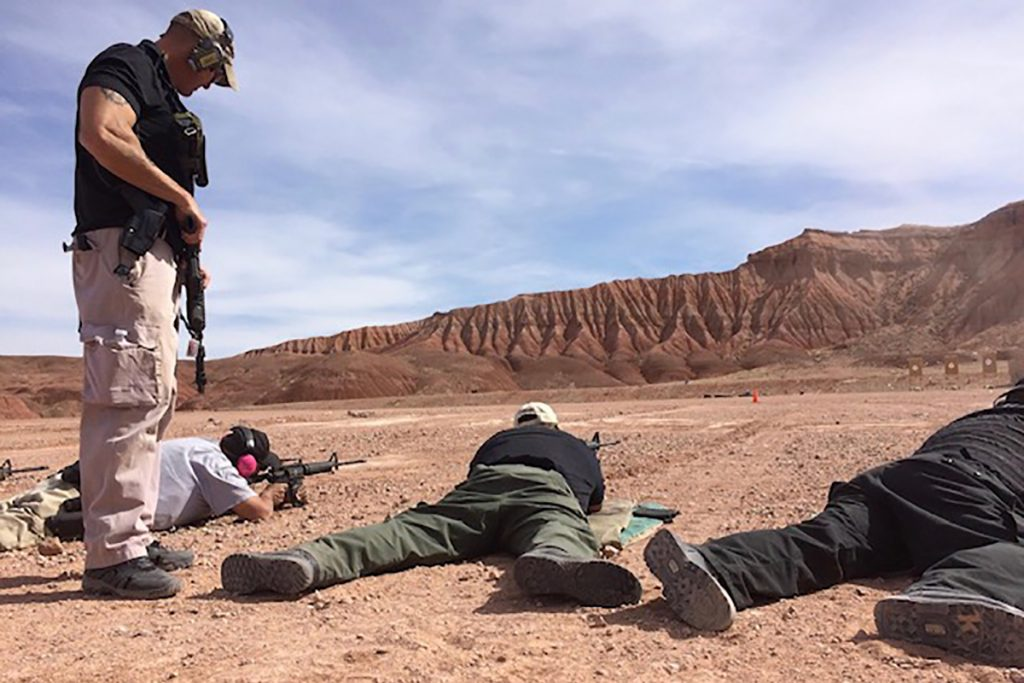 Rifle Class Taught by Ragnar Tactical