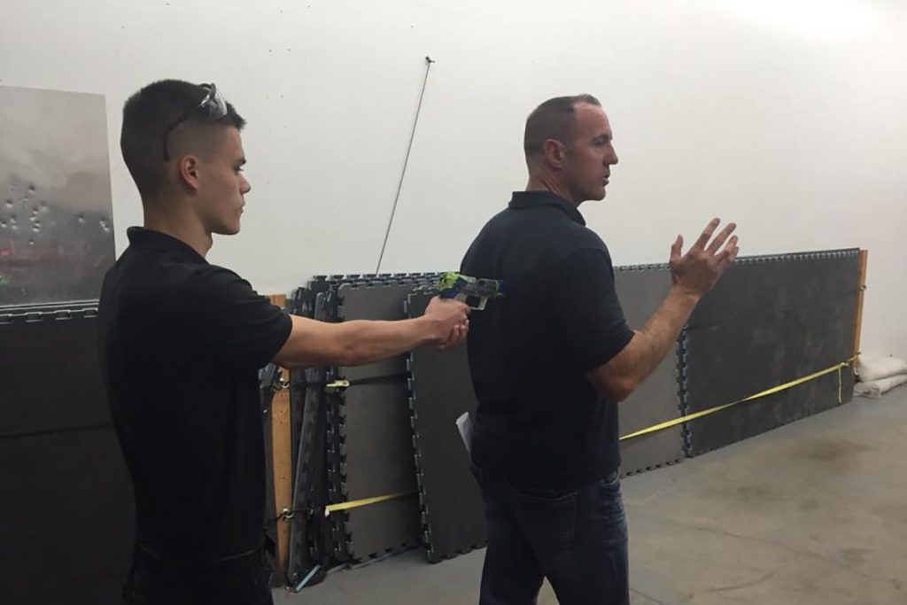 Self Defense Class Taught by Ragnar Tactical
